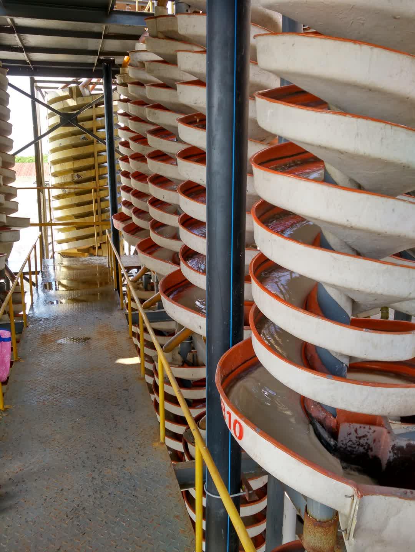 選礦設備螺旋溜槽