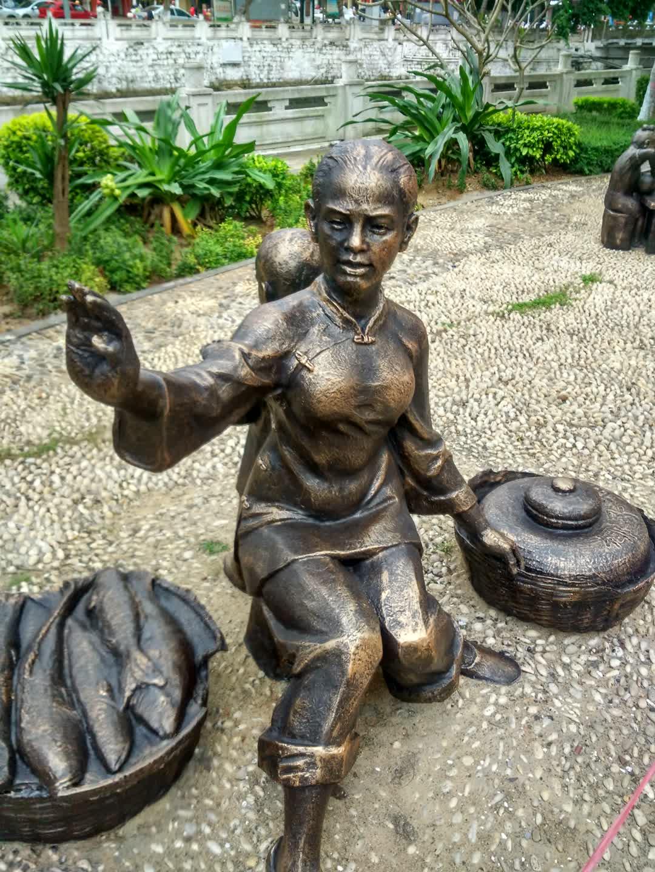 玻璃鋼雕塑-人物雕塑